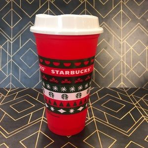 Starbucks Holiday 2020 Christmas Sweater Red Cup